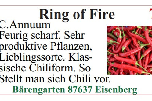 Chilisamen - Ring of Fire