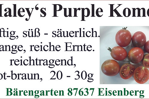 Tomaten klein - Haley's Purple Komet