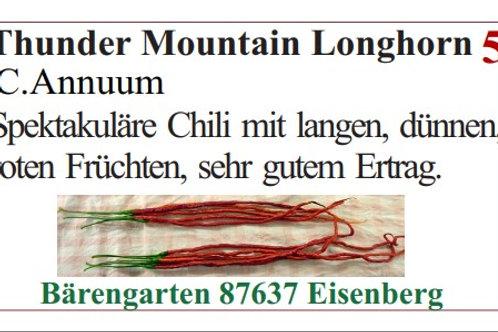 Chilisamen - Thunder Mountain Longhorn