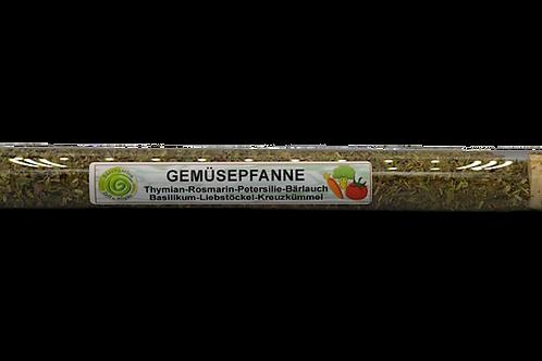 Gemüsepfanne Gewürz im Reagenzglas - 15 g