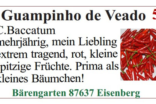Chilisamen - Guampinho de Veado