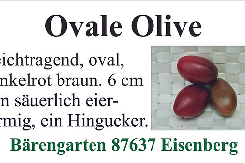 Tomaten mittel - Ovale Olive