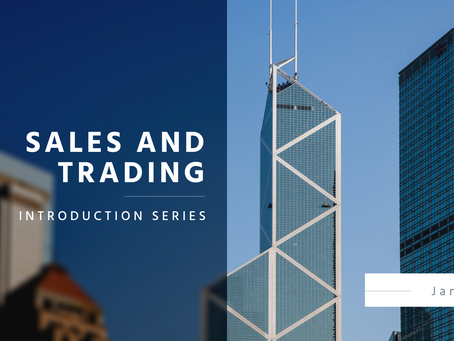 An Introduction to Sales and Trading