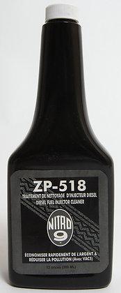 ZP-518 Pour nettoyage d'injecteurs diesel (Véhicules Lourds — Diesel seulement)