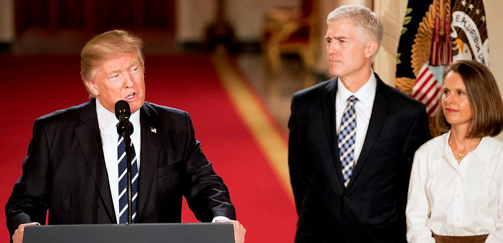 President Trump Introduces Neil Gorsuch