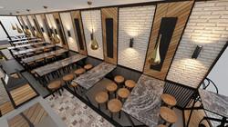 Mecidiyeköy Unkapanı Pilavcısı İç Mimari Proje ve Dekorasyon