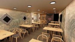 Ortaköy Kuzu Döner İç Mimari Proje ve Dekorasyon