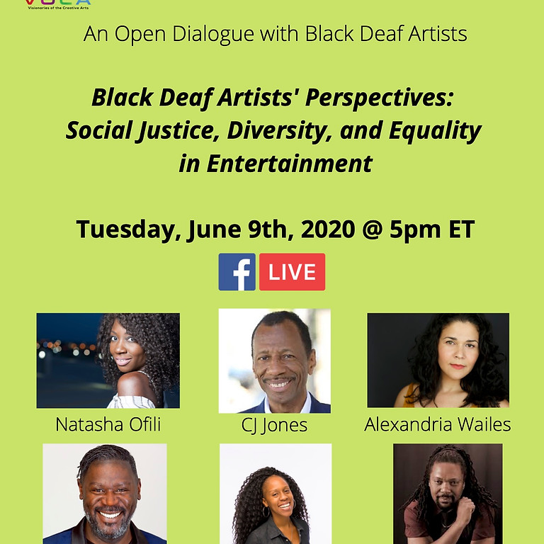 Black Deaf Perspectives: Social Justice, Diversity, and Equality in Entertainment