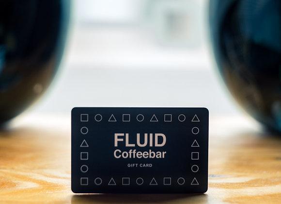 FLUID Coffeebar In- House gift card