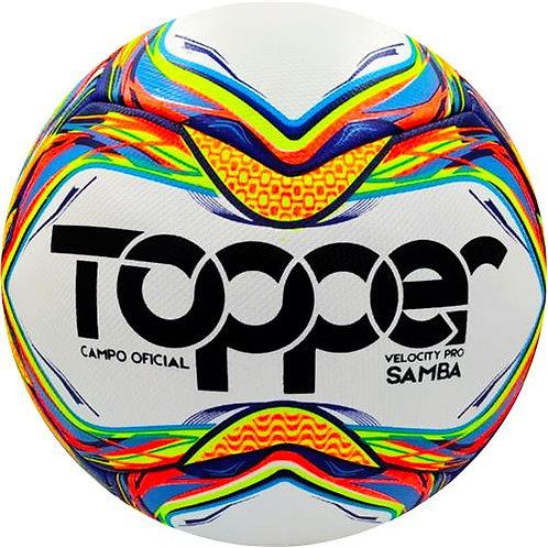 Bola Topper Campo Oficial Velocity Pró Samba