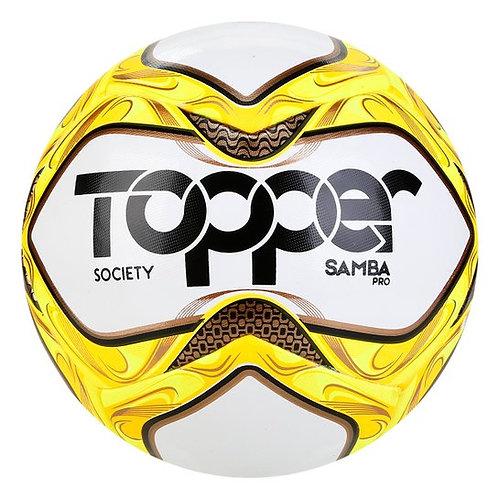 Bola de Futebol Society Topper Samba Pró Fusion