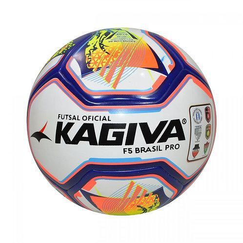 Bola de futsal Kagiva F5 Brasil Pro