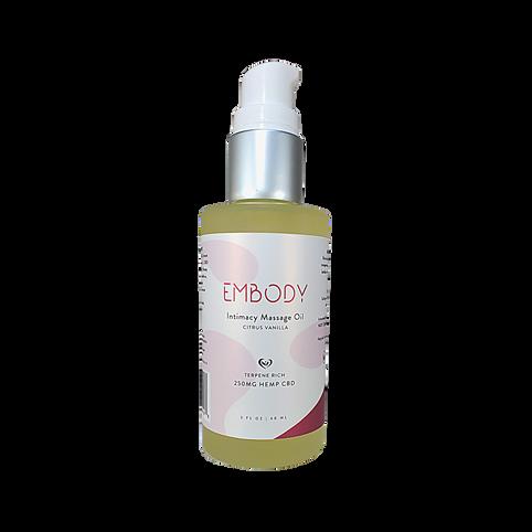 CBD Intimate Massage Oil 250mg