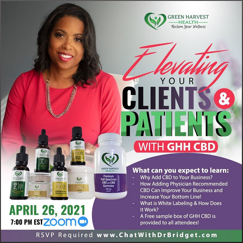Elevating Your Clients and Patients with Green Harvest Health CBD