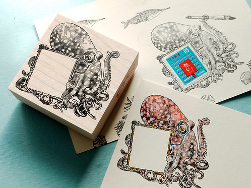 """Mr. Darcy"" frame stamp"
