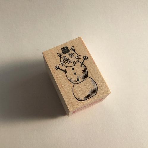 """Dali"" Snowman"
