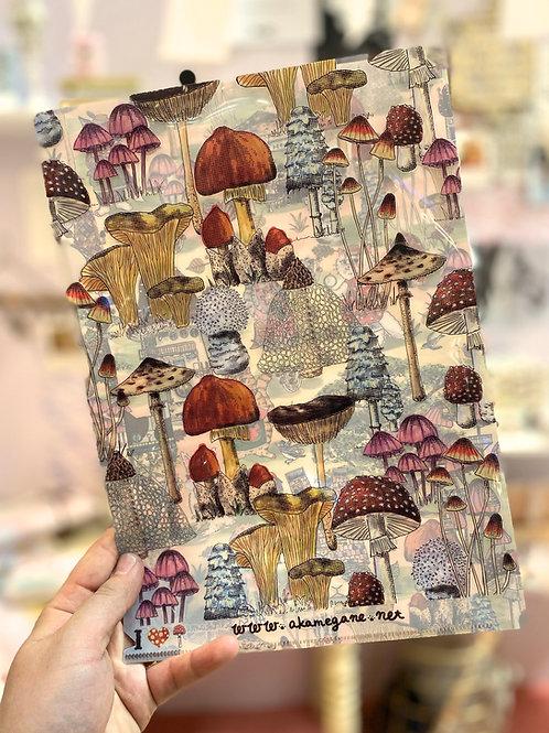 A4 Paper file / Mushroom hunt