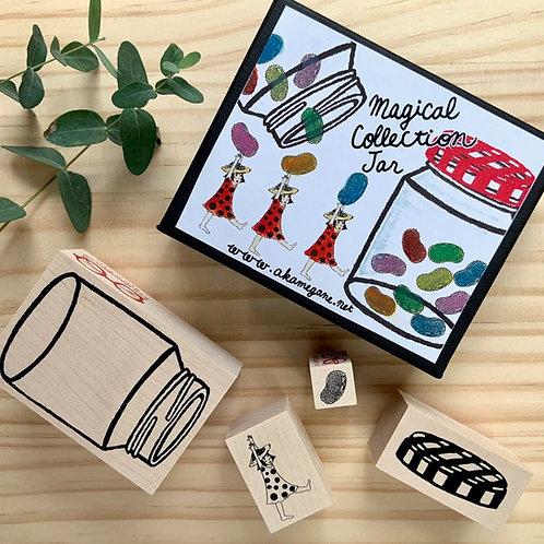 Magical collection Jar kit and a mushroom girl
