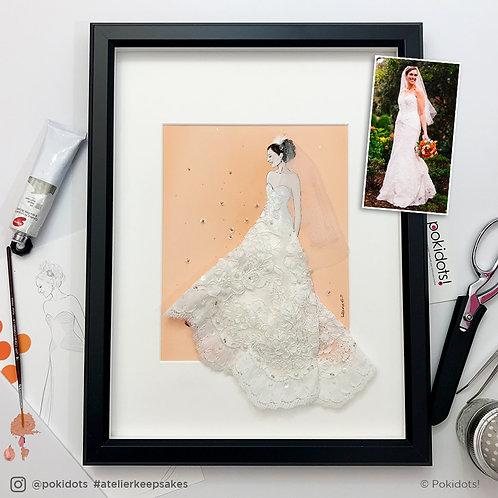 Pokidots! custom keepsake - Bridal