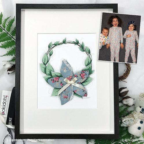 Pokidots! custom keepsake - Flower wreath