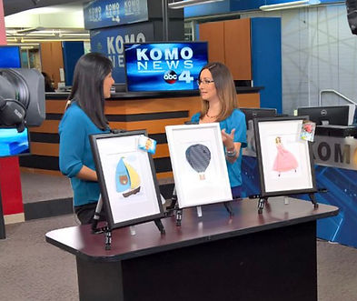 Pokidots! interview with KOMO News TV in Seattle.