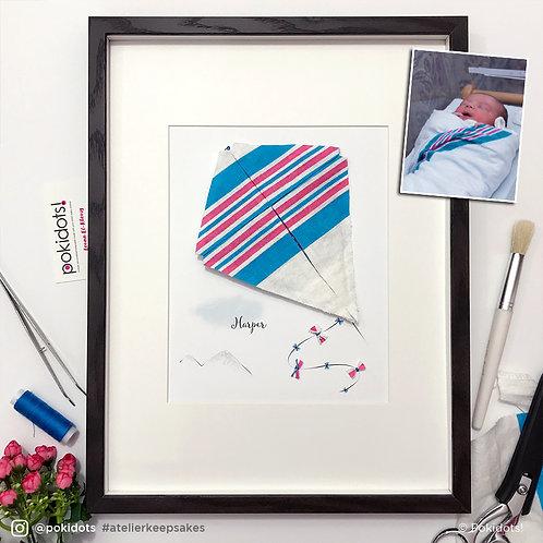 Pokidots! custom baby keepsake - Kite