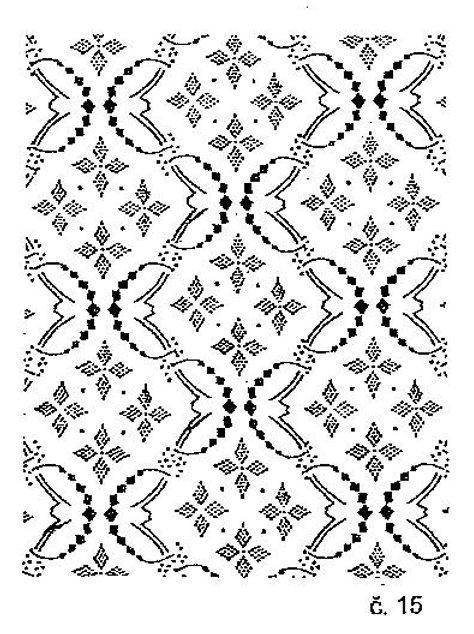 Malířský dekorativní váleček č.15