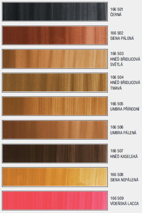 Lazurová barva pro fládrování