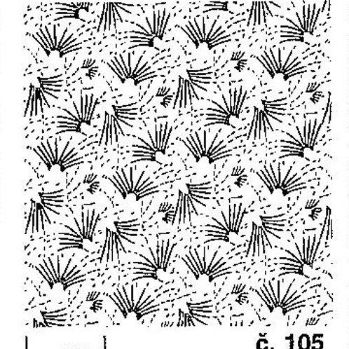 Malířský dekorativní váleček č.105