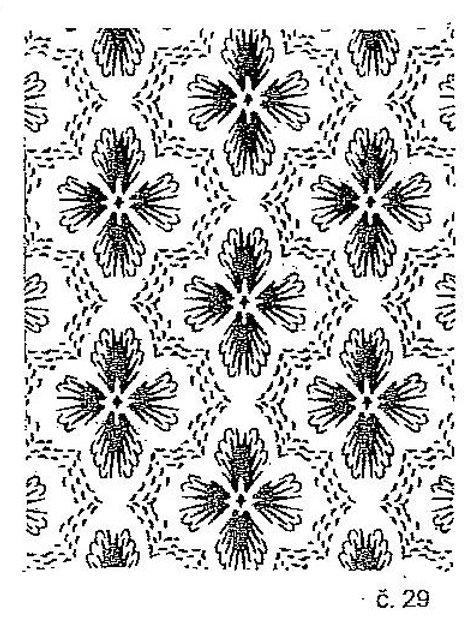 Malířský dekorativní váleček č.29