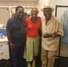 Eddie Levert and Walter Williams from The O'Jays