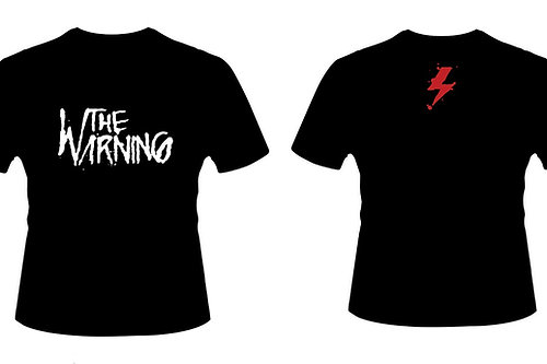 The Warning | BLACK Logo T-shirt