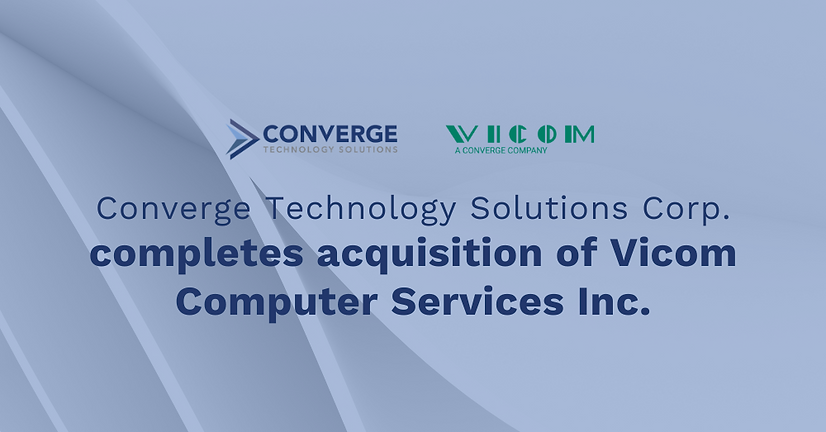 CTS completes acquisition of Vicom Compu