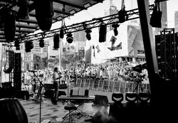 Main stage Federation Square