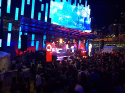 Main stage at Federation Square