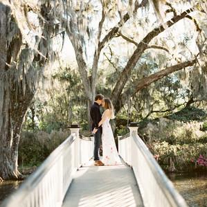 Charleston Engagement Session | Magnolia Plantation