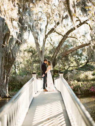 Charleston Engagement Session | Magnolia Plantation