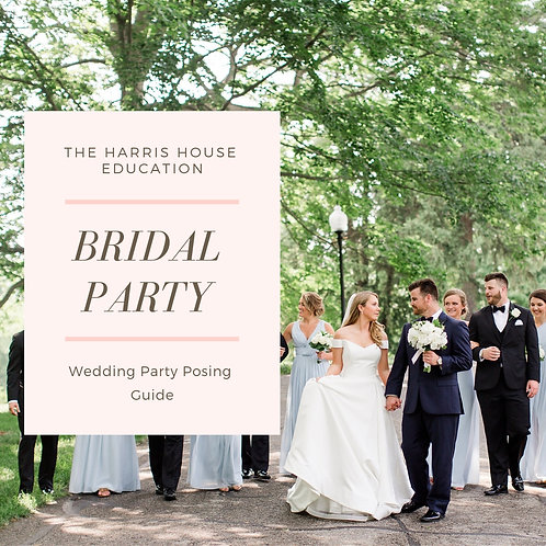 Full Bridal Party Posing Guide