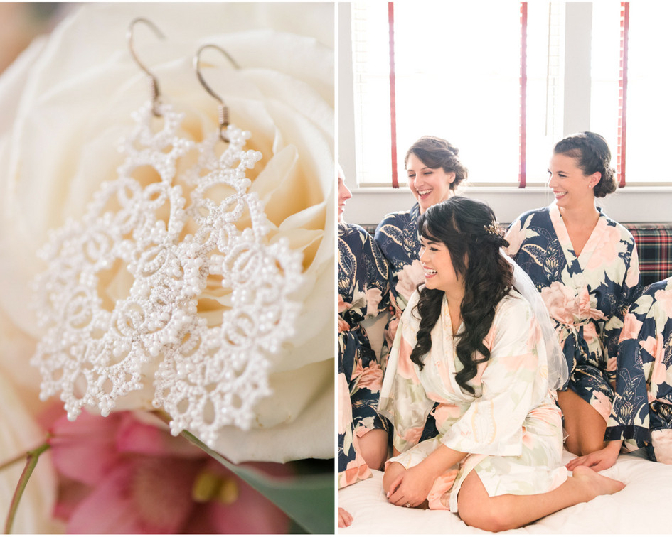 Bridesmaid-robes