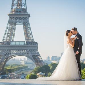 Classic Summer Elopement | Paris Wedding