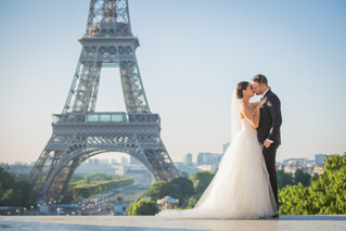 Classic Summer Elopement | Paris Wedding
