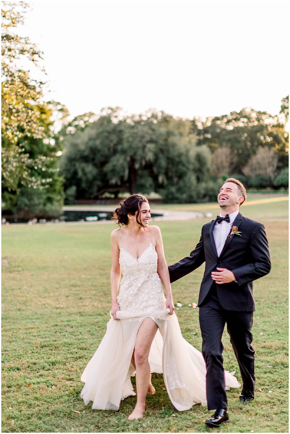 Laughing-bride-and-groom