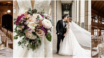 Scottish Rite Cathedral Wedding | Downtown Indianapolis Wedding | Megan & Chad