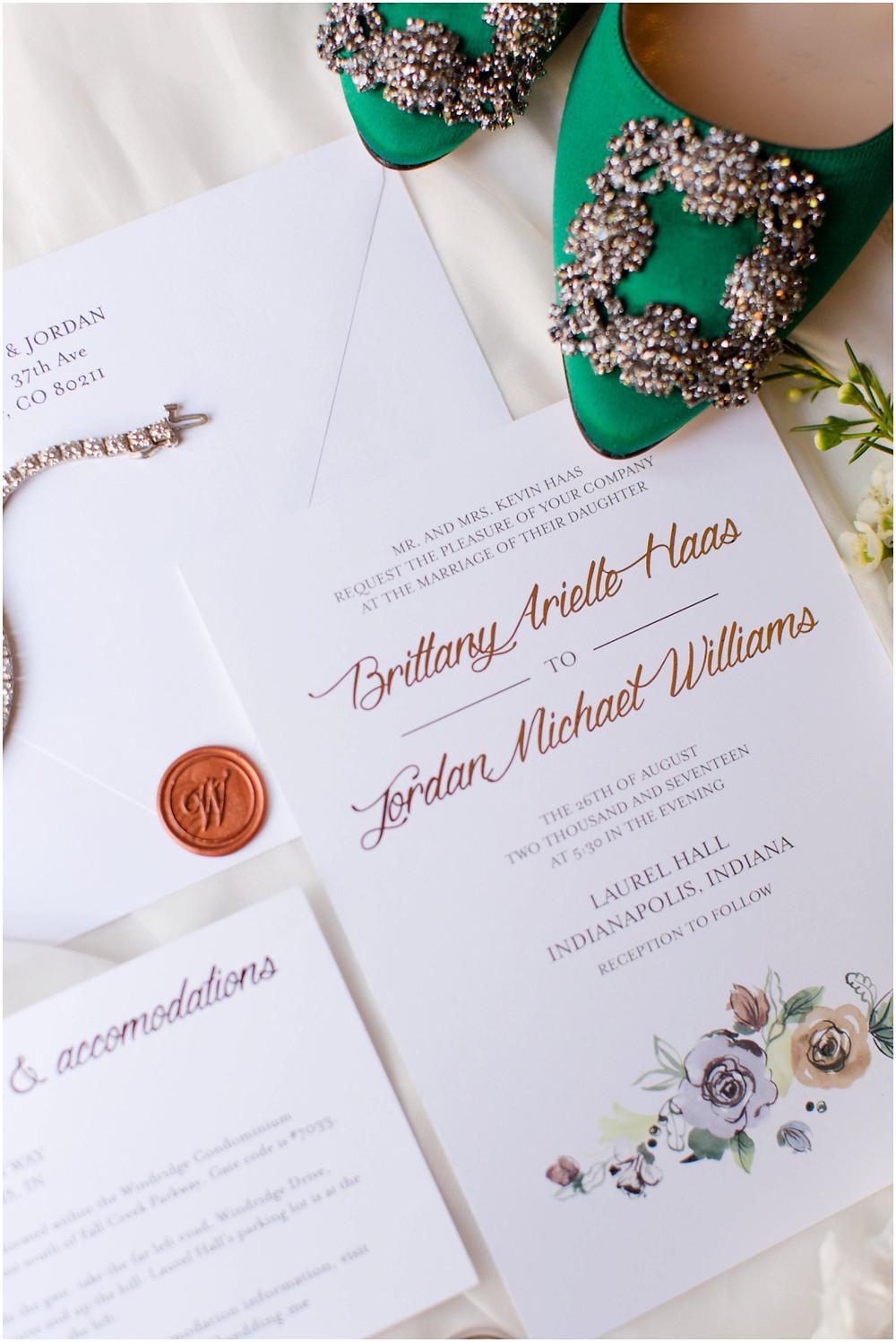 Wedding invitaiotn