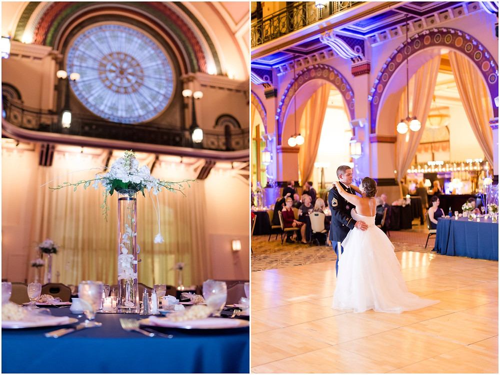 Union Station Weddings downtown Indy