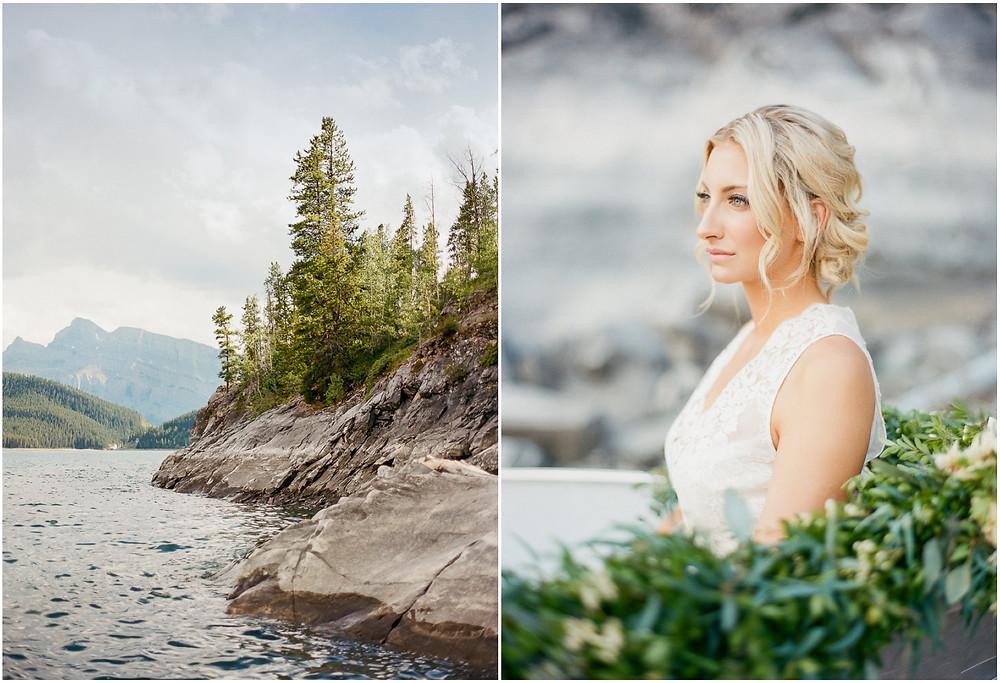Lake Minnewanka wedding