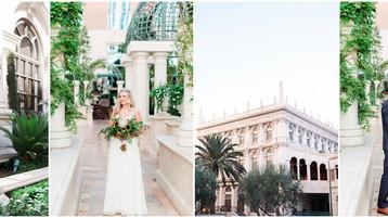 Nevada Destination Wedding | Jonathan and Amanda | The Palazzo