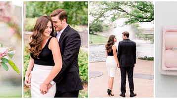 Downtown Indianapolis Engagment Session | Ariel & Christian