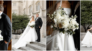 Scottish Rite Cathedral Wedding | Indianapolis Wedding Photography | Carolyn & Will