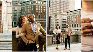 Indianapolis Spring Engagement Session | Henry & Danielle | Engagement Photographer
